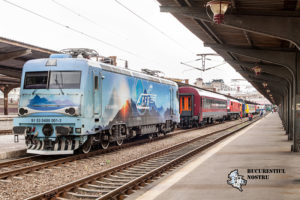 Bucurestiul nostru - Train delivery 2014 Gara de Nord